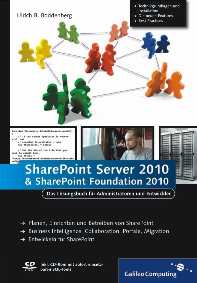 Microsoft SharePoint Server 2010 und SharePoint Foundation 2010 (Galileo Computing, 2011)