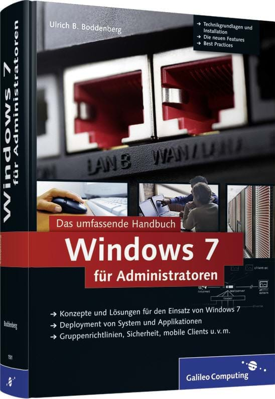 Windows 7 für Administratoren (Rheinwerk (Galileo Computing), 2009)